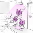 """Светильник для растений фитопанель """"Мекбуда"""" 96Вт"""