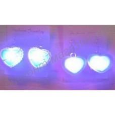 Светящиеся (мигающие) серьги со светодиодами