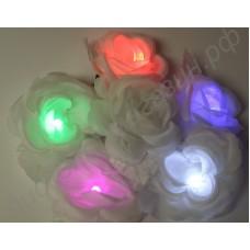 Светящиеся (мигающие) заколки, резинки для волос LED