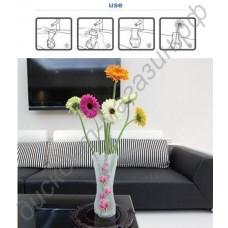 Пластиковая складная ваза