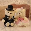 Свадебные мишки (украшение на машину, свадебные подарки)