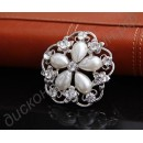 Брошь New Bridal Bridesmaid Rhinestone pearl flower