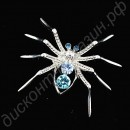 Брошь Stylish Spider Rhinestone