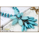 Ожерелье necklace turquoise female mdash