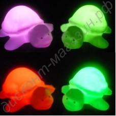 Семицветный ночничок в виде черепашки