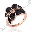 Кольцо Love the new 18 k rose gold ring color act the role