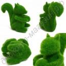 Забавные фигурки из искусственной травы