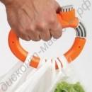 Пластиковая ручка-держатель для переноски пакетов и сумок
