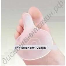 Защитная подушечка под плюсневую кость с разделителем пальцев, 1 пара
