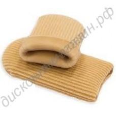 Защитный тканево-гелевый напальчник-колпачок для пальцев стопы