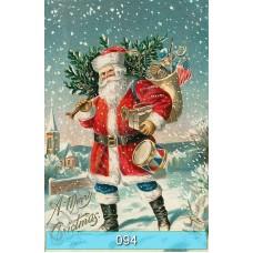 """Винтажные открытки """"С Новым Годом!"""" и """"С Рождеством!"""""""