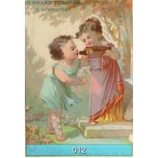 Винтажные открытки с девушками, дамами и детьми