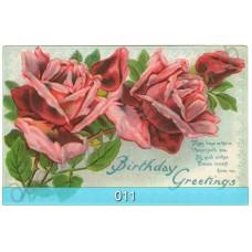 Винтажные открытки с цветами