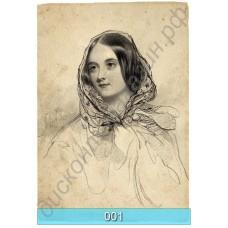 Винтажные открытки с портретами