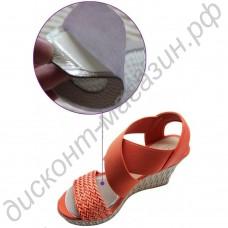 Кожаные пелоты в туфли под переднюю часть стопы с массажным эффектом