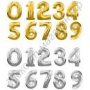 Фольгированные шары-цифры, наполненные гелием, с доставкой