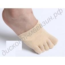 Женские увлажняющие носки на передний отдел стопы