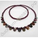 Турмалиновое ожерелье «Все цвета радуги»