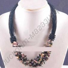 Турмалиновое ожерелье «Весна»