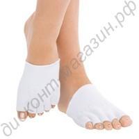 Гелевые spa полуноски для пальцев ног против сухости и трещин