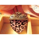 Подвеска Leopard Love Vintage alloy sweater