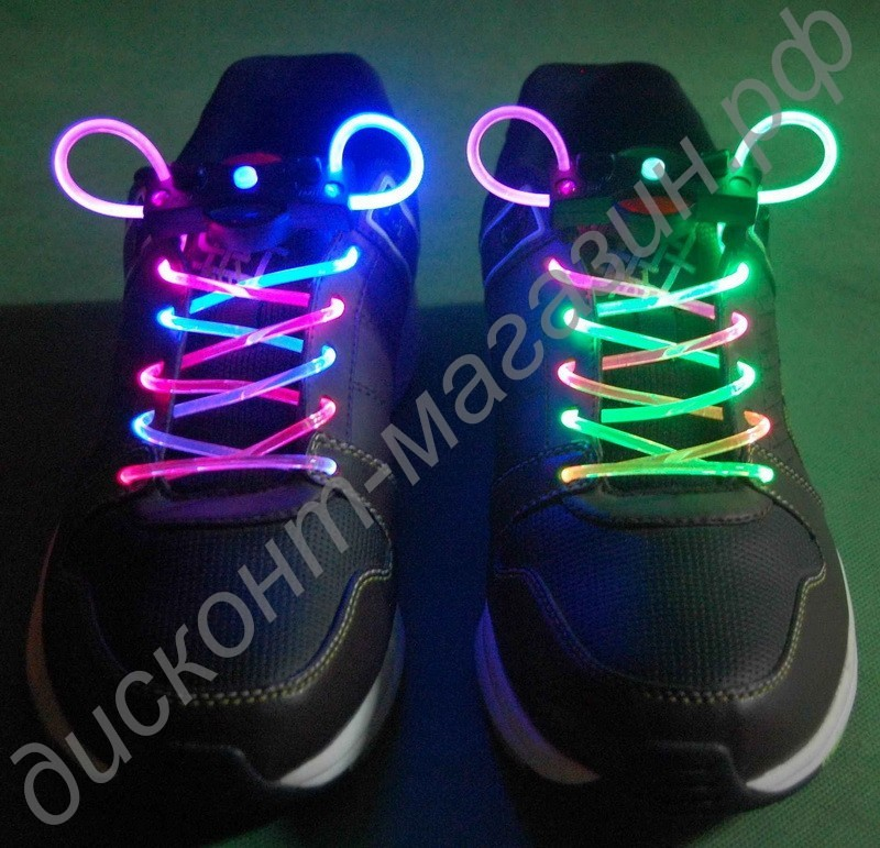 Светящиеся шнурки своими руками фото