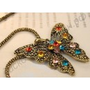 Подвеска Vintage crystal Accent Butterfly