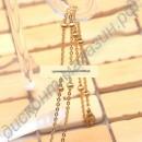 Элегантное ожерелье с турмалином