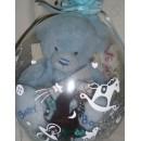 Упаковка подарка, коробочки с кольцом, денег в воздушный шар