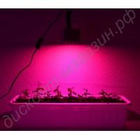Мощный 10Вт фитодиод на радиаторе LED grow light «Мерак», гарантийное обслуживание - 1 год