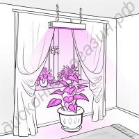 Лампа для освещения растений «Канопус», гарантийное обслуживание - 1 год