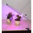 Лампа для досветки рассады с креплением-зажимом и гибким кронштейном «Толиман», гарантийное обслуживание - 1 год