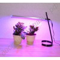 Настольная лампа для подсветки цветов «Андромеда», гарантийное обслуживание - 1 год