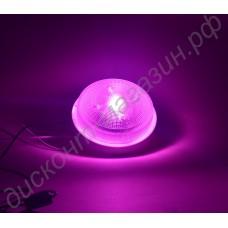 Мощная тепличная светодиодная фитолампа на базе 100Вт светодиода полного спектра «Скат», гарантийное обслуживание - 1 год